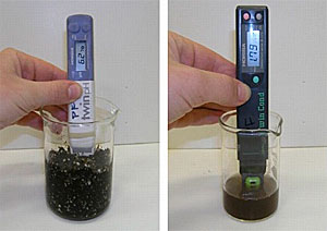 Measure pH and EC